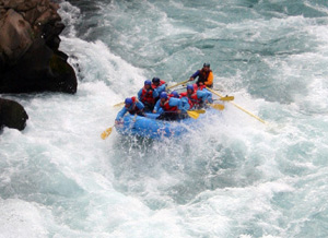Whitewater Rafting as part of a custom trip/multi-activity adventure