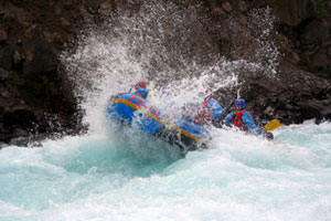 Whitewater Rafting the Colorado River in the world famous Grand Canyon