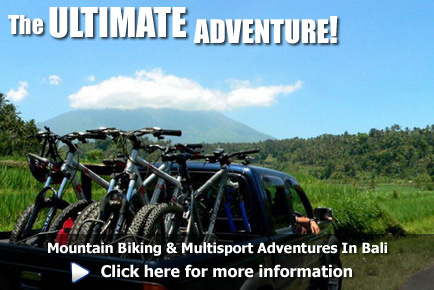 Mountain biking and multi-activity adventures in Bali, click here for more information