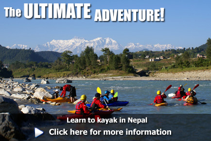 Learn to kayak in Nepak, click here for more information
