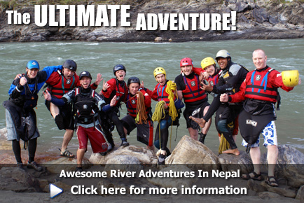 Whitewater Rafting & Kayaking Adventures in Nepal, click here for more information
